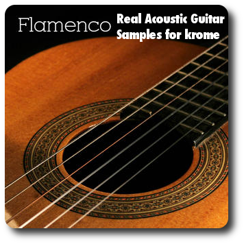 Acoustic Guitar Samples for Krome